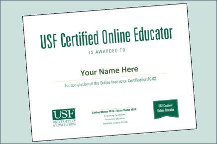 Online Instructor Certification Course