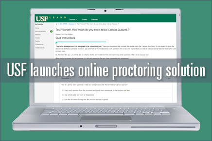 USF launches online proctoring solution