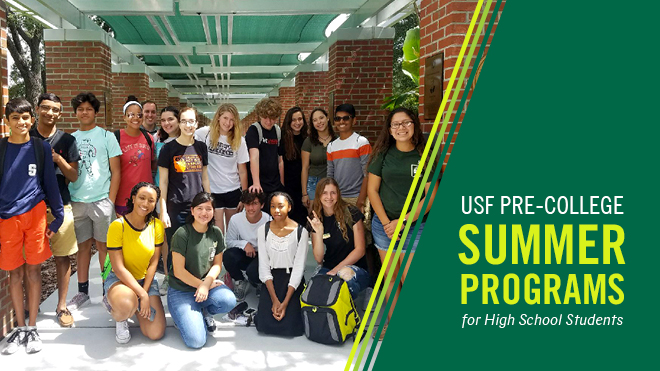 USF Pre-College, Summer Programs for High School Students