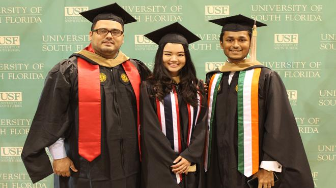 INTO USF Graduates Look towards their Future with Excitement