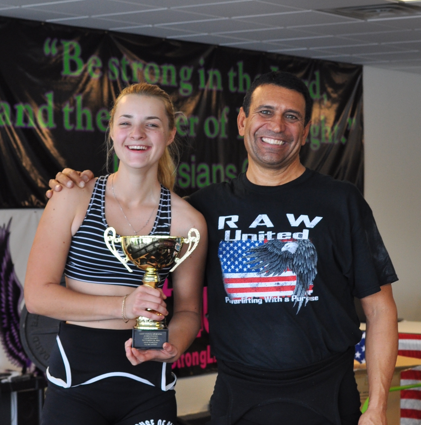INTO USF Pathway student Mariya Topchy finds hobby in powerlifting.
