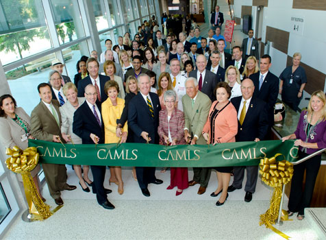 CAMLS ribbon-cutting ceremony