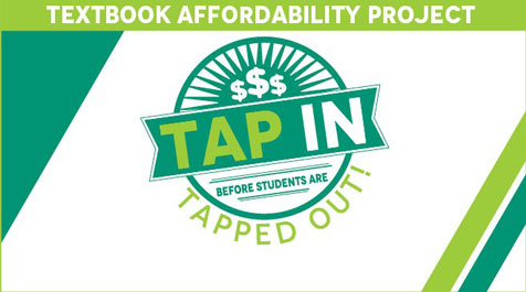 Logo for the Textbook Affordability Project