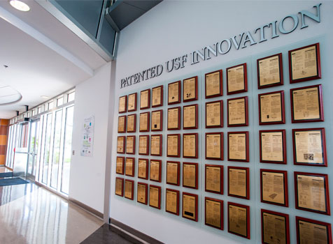 USF Wall of Patents