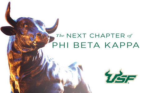 USF earns the next chapter of Phi Beta Kappa