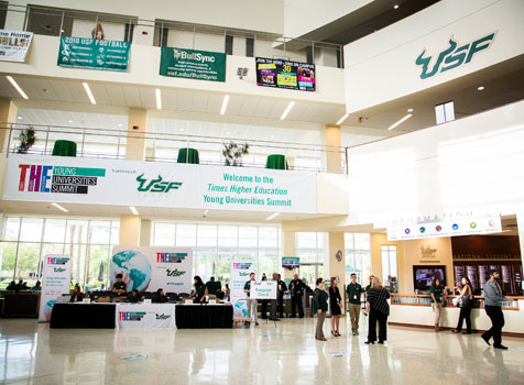 Times Higher Education Summit at USF