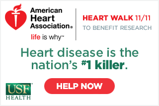 Join the Heart Walk on Nov. 11 to benefit research.