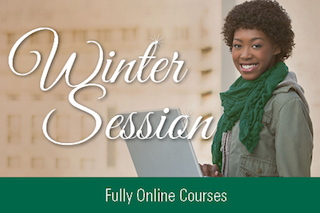 Winter Session. Fully online Courses.