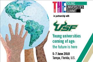 The Young Universities Summit. June 5 - 7, 2018. Tampa, Florida.