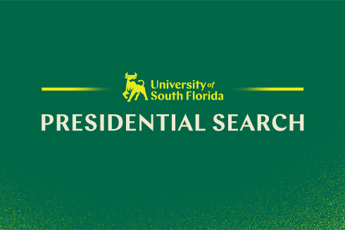 Four Presidential Search Finalists