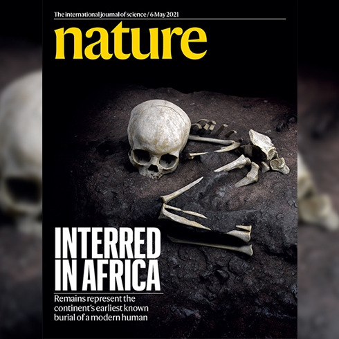 May 6, 2021 - Nature Magazine Cover
