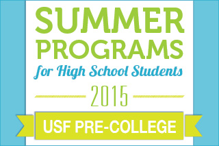 USF Pre-College. Summer Programs for High School Students.