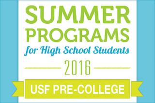 Summer Programs for High School Students.
