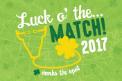 USF Health Match Day 2017. Luck o' the Match!