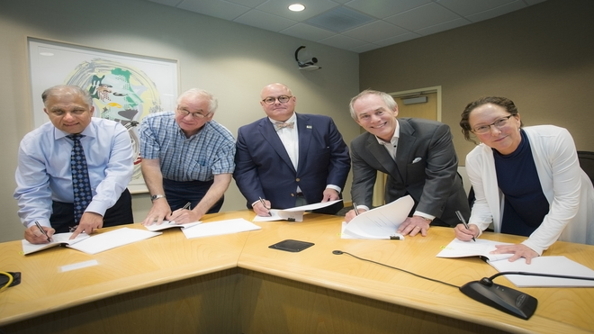 USF Health signs partnership with community leaders