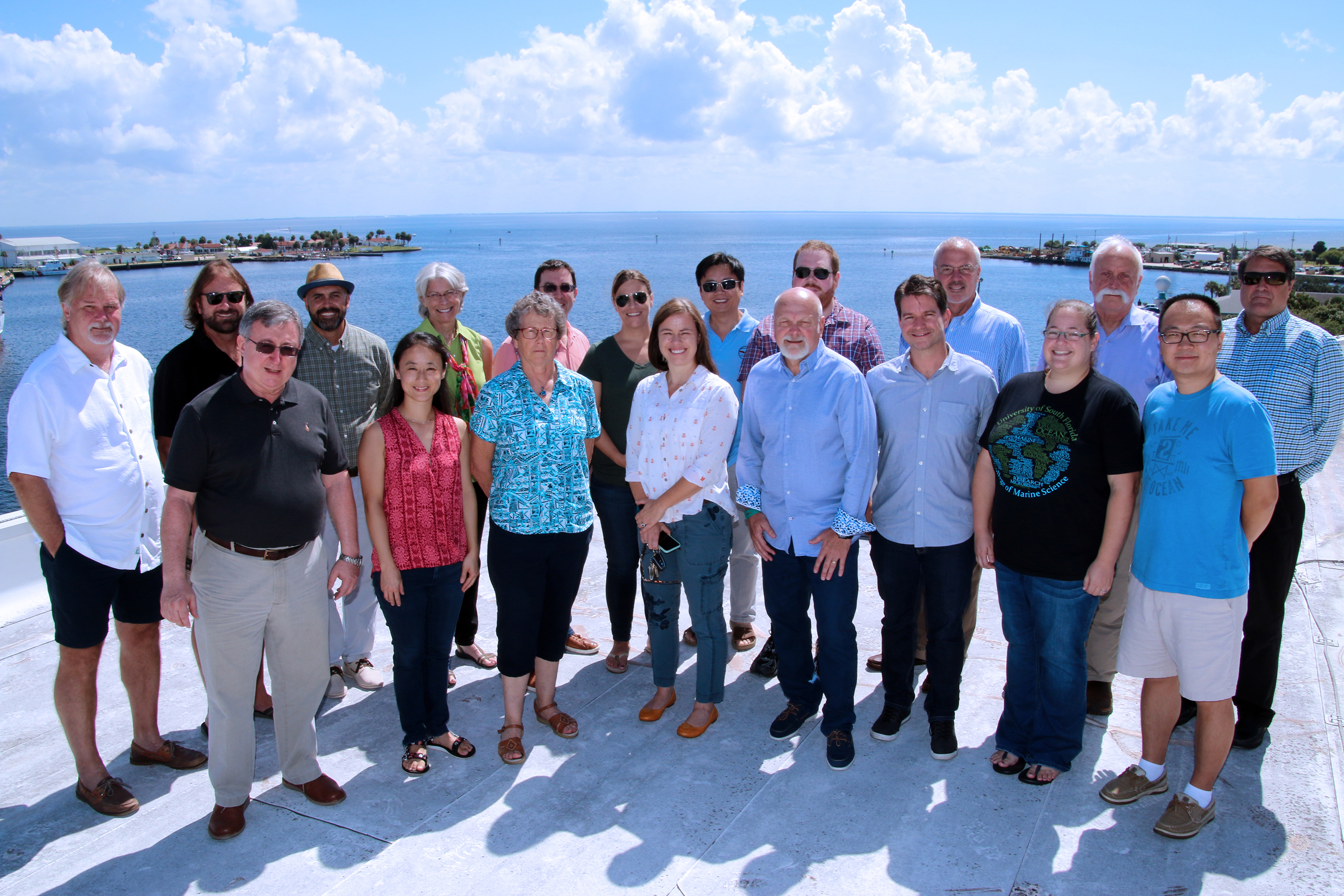 Program Faculty at USF Marine Science