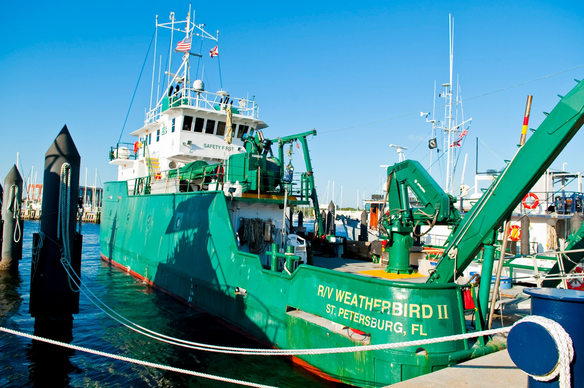 USF CMS Research Vessel Weatherbird II
