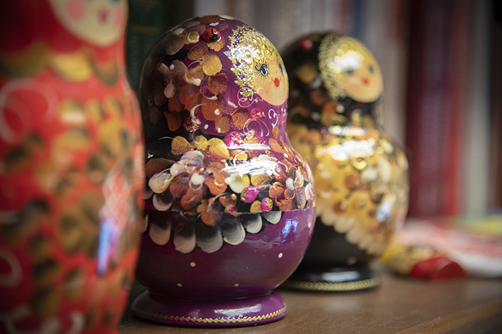 Picture of Russian wooden dolls