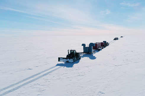 A research unit in the Antarctic