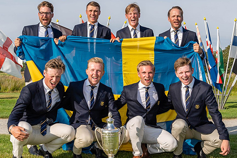 Sweden's 2019 European Amateur Golf Team