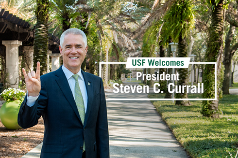USF President Steve Currall
