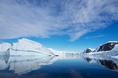 A photo of Antarctica