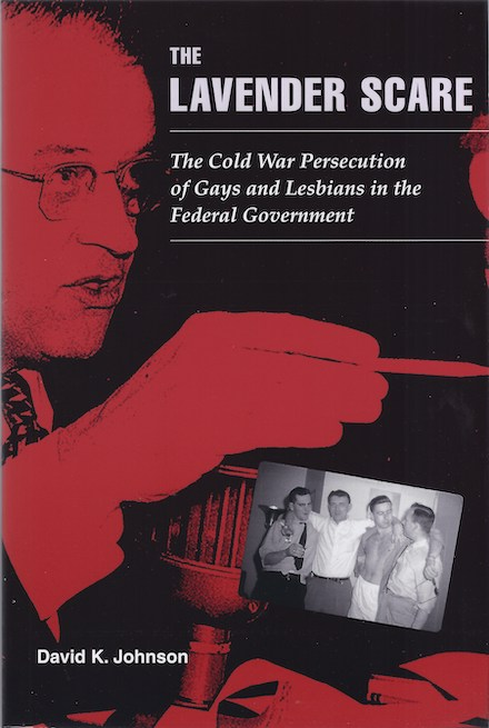 Front cover of The Lavender Scare, published by USF history professor, David Johnson