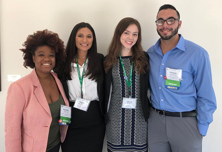 USF and UF students attending the conference