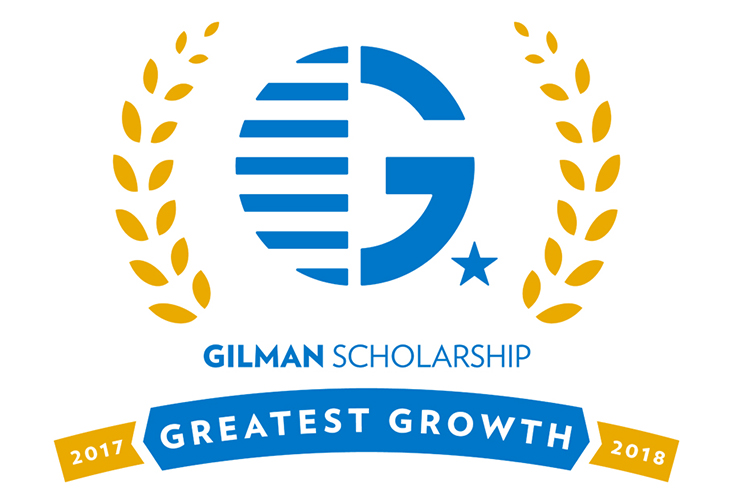 Logo graphic of the Gilman Greatest Growth