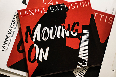 The album artwork for Lannie Battistini's latest studio album was designed by USF students.