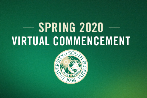 Spring 2020 Virtual Commencement Graphic