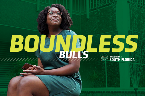 Boundless Bulls graphic image featuring Jeannette Myrick