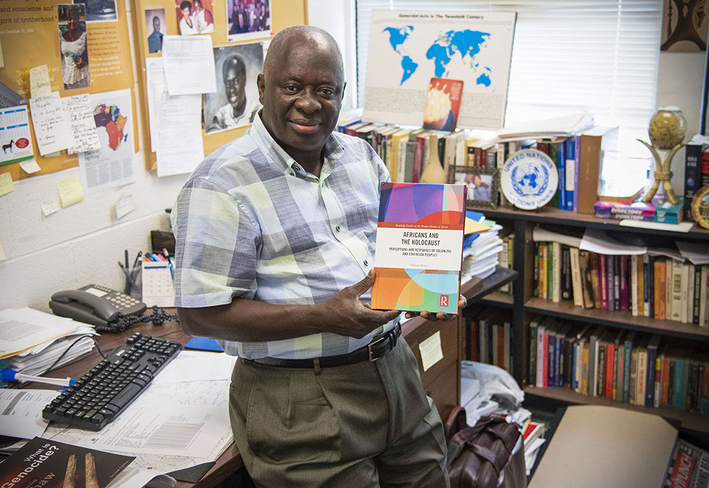 Edward Kissi, PhD, associate professor in the University of  South Florida's Department of Africana Studies