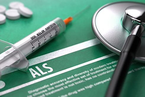 A stock medical photo showing the letters 'ALS'