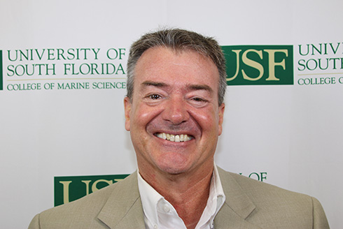 USF College of Marine Science Senior Research Ocean Engineer Clifford Merz