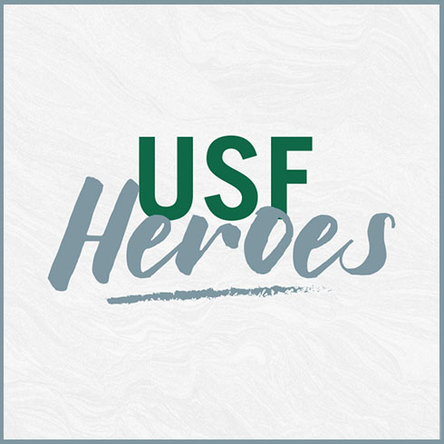 USF Heroes graphic