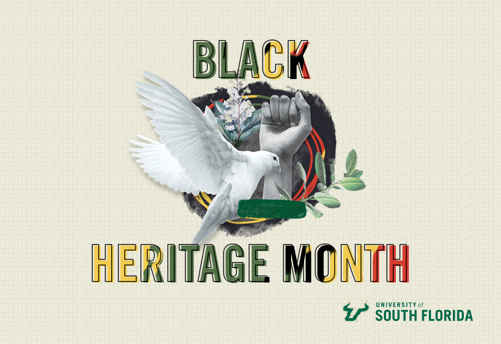 A graphic celebrating Black Heritage Month