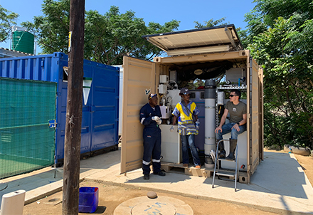 NEW generator in South Africa