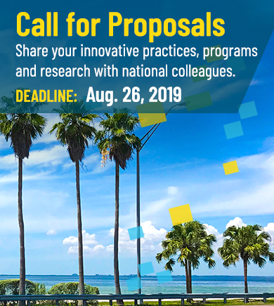call for proposals image of palm trees