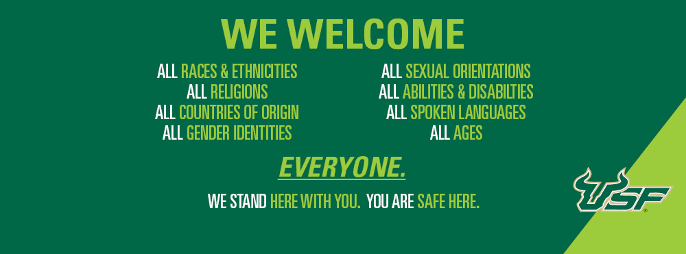 We Welcome