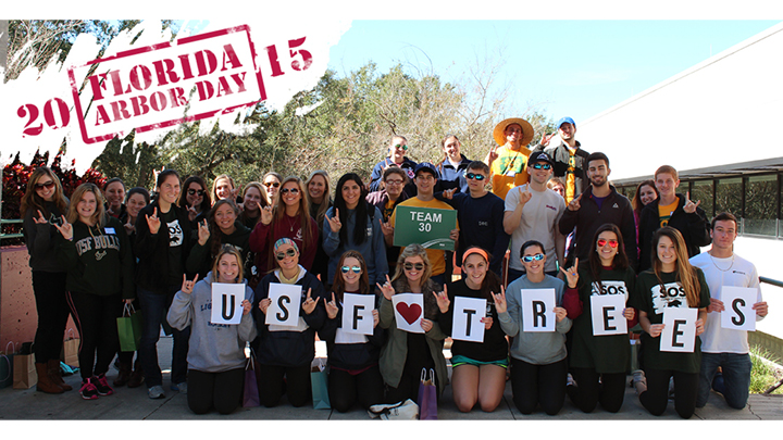 USF celebrates Florida Arbor Day