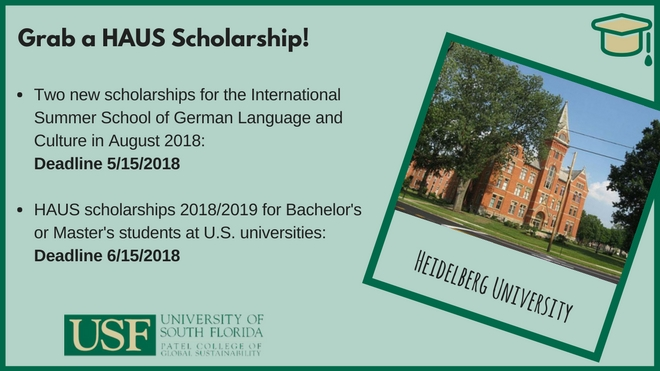 HAUS scholarships