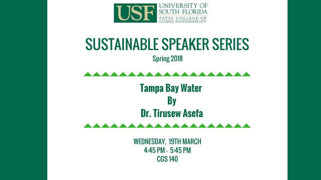 Tampa Bay Water Speaker Series
