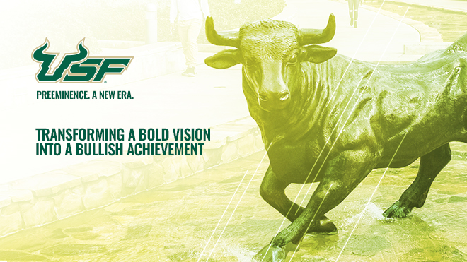 "USF Officially Designated as ""Preeminent"" by the Florida Board of Governors"