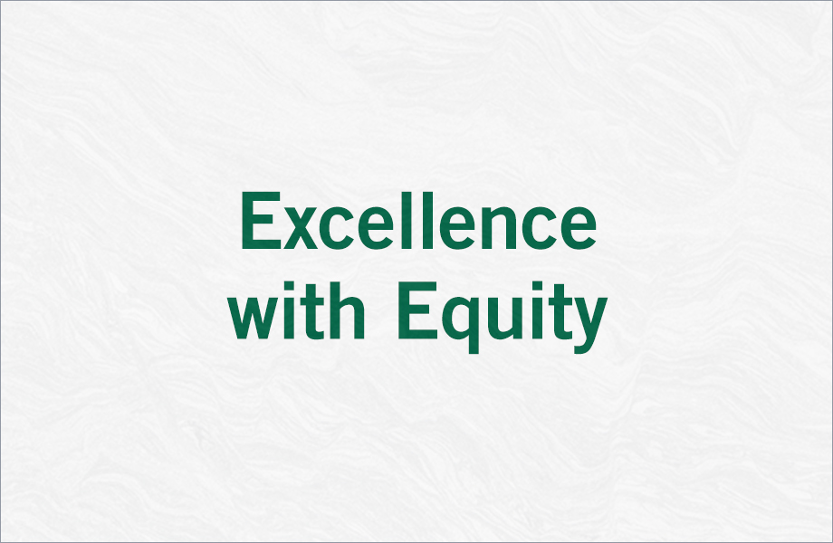 Excellence with Equity