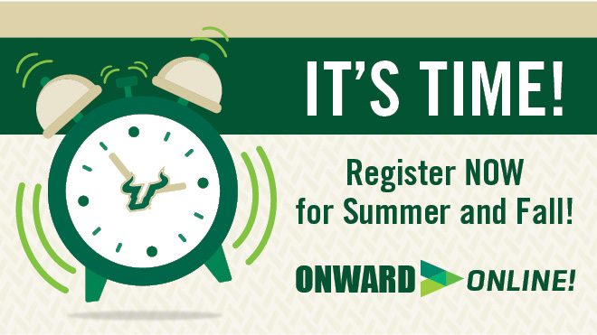 Summer and Fall Registration Reminder