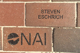 NAI donation brick
