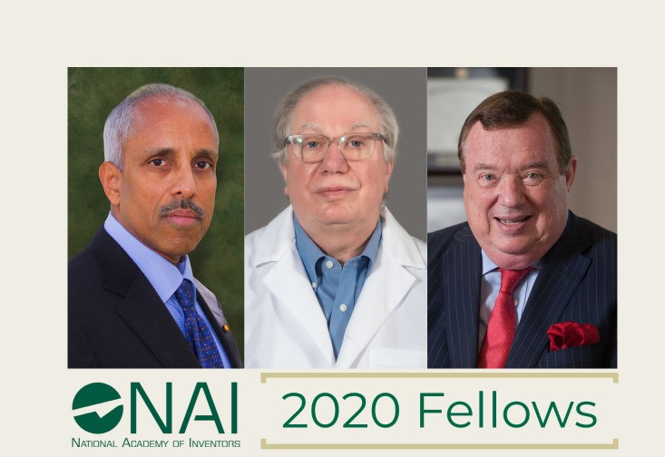 The three new NAI Fellows from USF