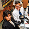 USF professors Shyam Mohapatra and Subhra Mohapatra