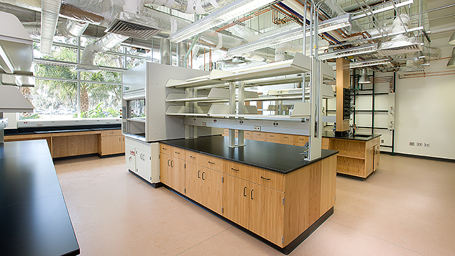 USF CONNECT's Shared Laboratory Facilities